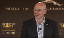 Prof Greenberg speaks at Invictus Games 2016