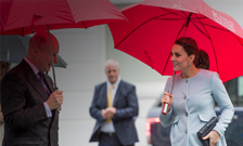 The Duchess of Cambridge visits King's College London's IoPPN