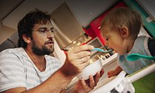 Parental 'feeding styles' reflect children's genes