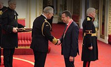 Professor Matthew Hotopf receives CBE at Buckingham Palace