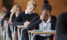 Selective school students differ by genetics and GCSEs