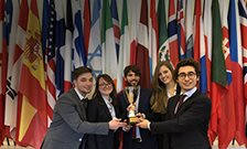 King's Team Competes in Day of Crisis Moot