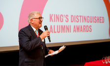 Faculty shines at Distinguished Alumni Awards