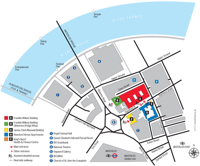 Waterloo detailed map
