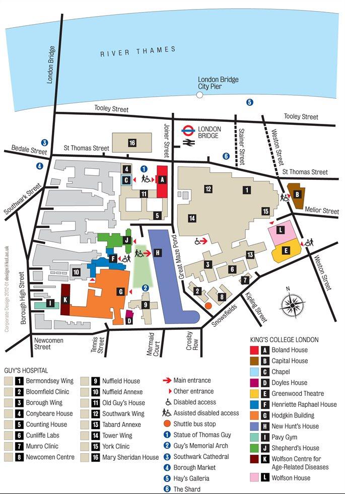 Guy\'s Hospital Map Practitioner Development UK LTD