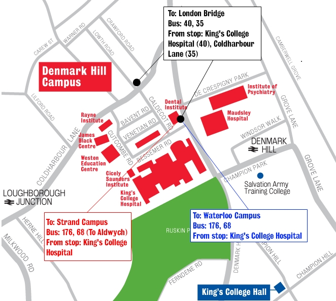 King University Campus Map.Waterloo Campus
