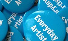 33000 Everyday Artists project badges