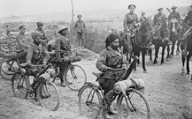 Indian troops during World War 1