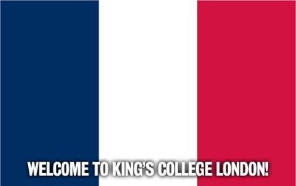 Welcome to King's College London!