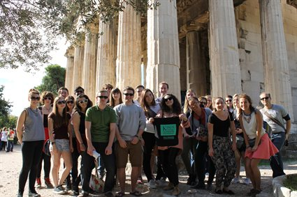 Students and Staff in the Centre for Hellenic Studies