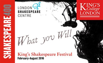 What you Will King's Shakespeare Festival logo