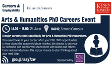 PhD careers event