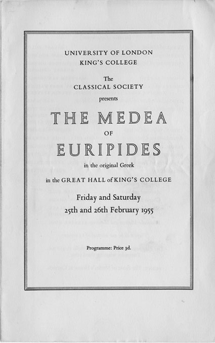 the alienation in the culture and society in the play medea by euripides A comparison of the influential role of the chorus in sophocles' antigone and euripides' medea it has been said by as both belonged to the group of women living in the male-dominated society medea, god has launched on you later in the play when medea confides about her plan of.
