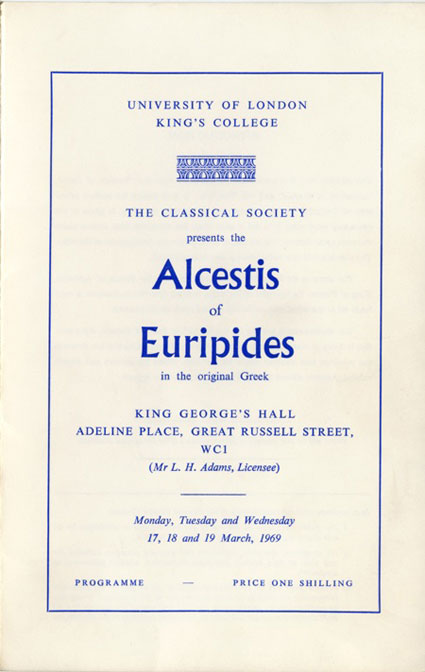 "comparitive study between euripides alcestis and Just and unjust speech in aristophanes' clouds - throughout aristophanes' ""clouds"" there is a constant battle between old and new."