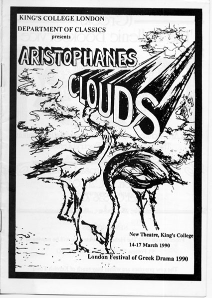 the clouds by aristophanes Title: the clouds author: aristophanes availability: distributed by the university of oxford under a creative commons attribution-noncommercial-sharealike 30.