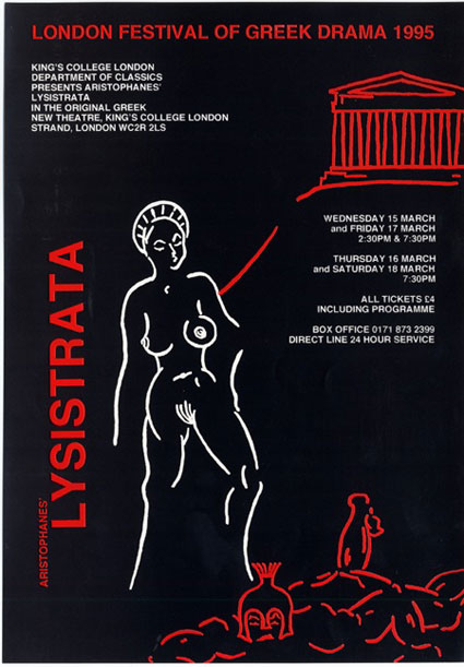 the improbabilities in aristophaness comedy lysistrata Comedy : a type of literature by shoaib9arslan in types maps.