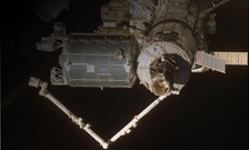 The ISS COLUMBUS module on the International space station