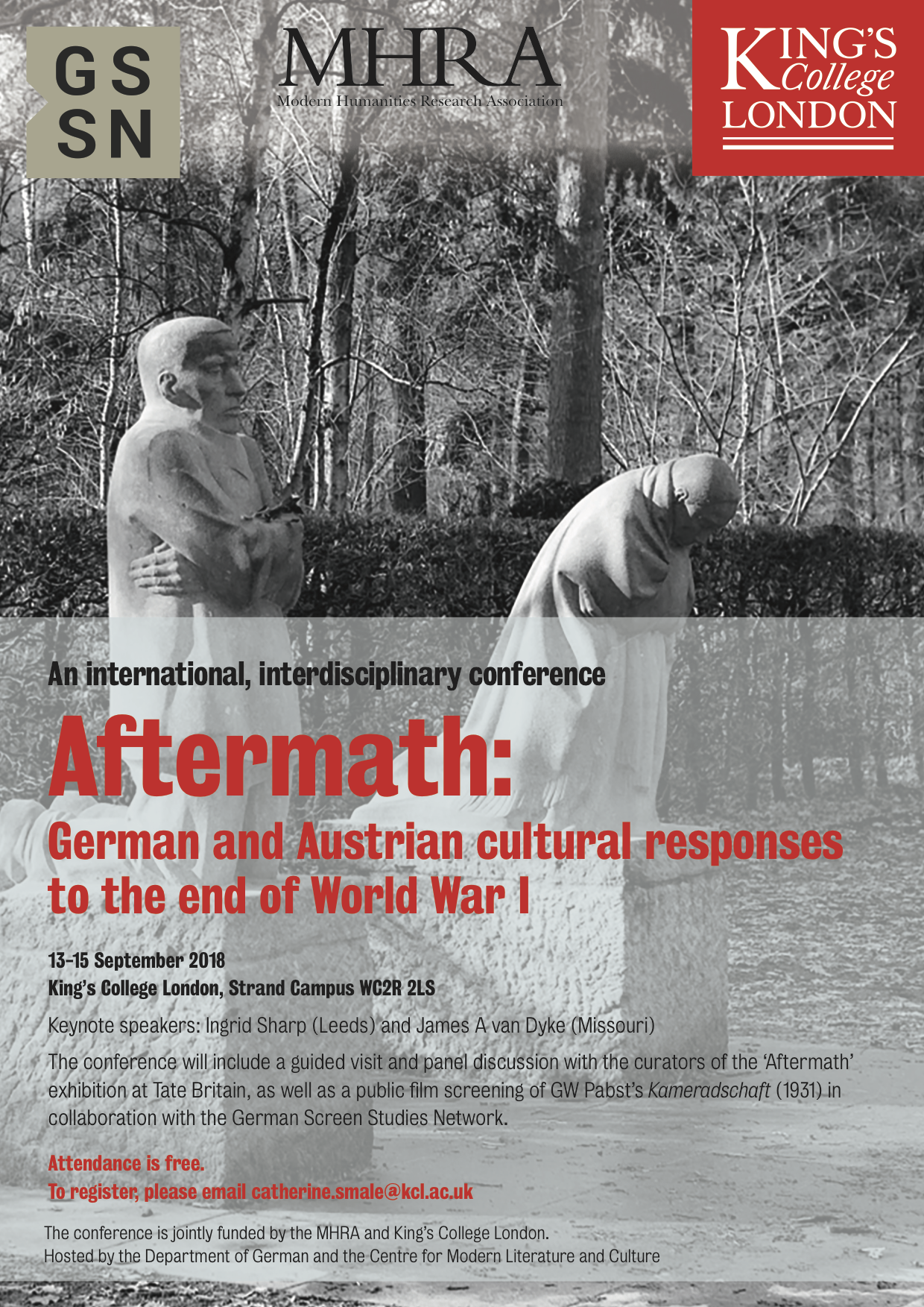 Aftermath conference poster