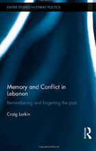 Memory and Conflict in Lebanon book cover