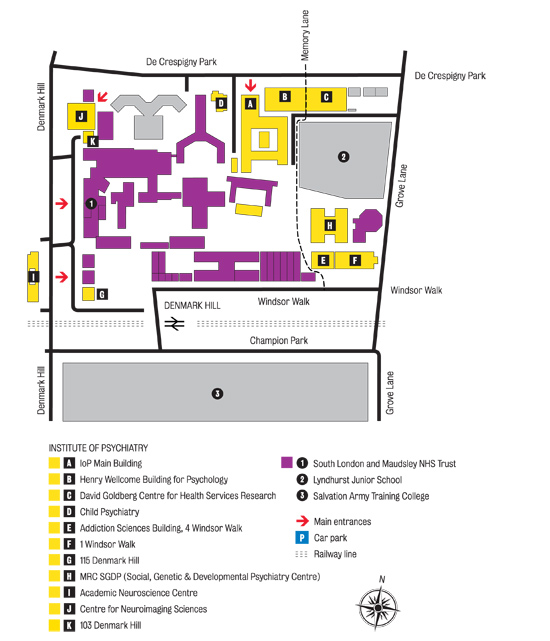 Kings College London Campus Maps - Colleges research map us