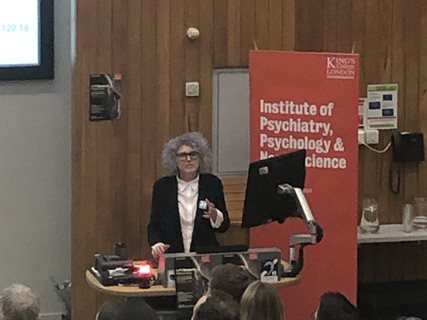 Debbie Robson_IoPPN research festival 2019