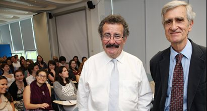 Professor Lord Robert Winston & Professor Emeritus Nick Bouras