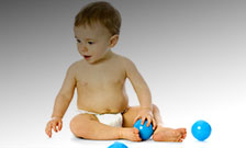 Video-based therapy for babies to prevent autism