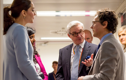 King's College London - The Duchess of Cambridge visits King's