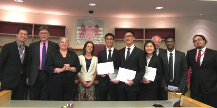 Herbert Smith Freehills Competition Law Moot hosted with King's College London