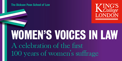 KCL DPSL WOMEN'S SUFFRAGE MASTHEAD 600x300 option2