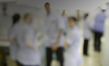 Blurred doctors