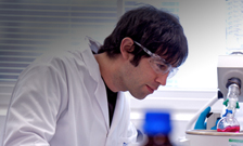 Guy in lab