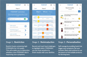 FODMAP app_3 stages