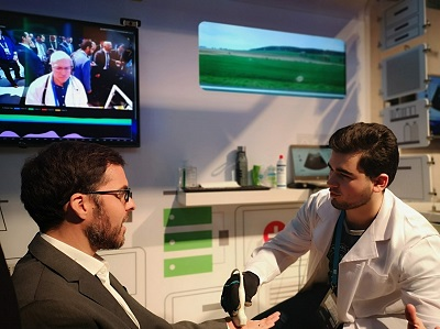 King's College London - Ultrasound through 5G showcased at MWC 2019