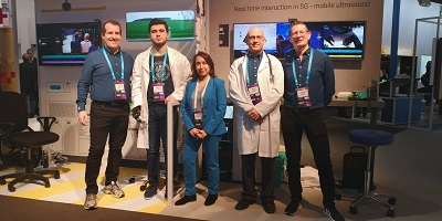 The King's 5G team at MWC 2019