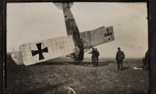 Crashed-World-War-I-German-Airplane