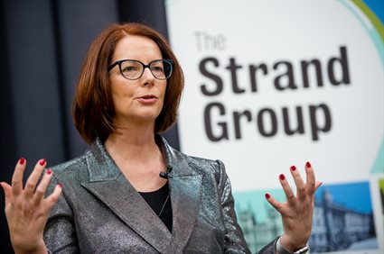 Julia Gillard Strand Group-84