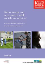 Recruitment and retention report