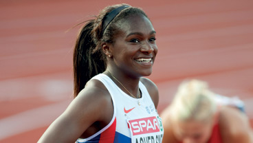 History graduate Dina Asher-Smith becomes history maker