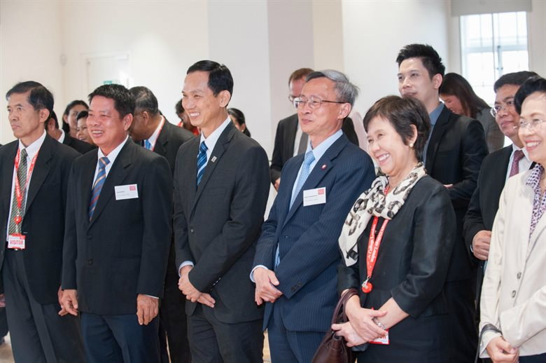 Thai Judges Visit King's Law