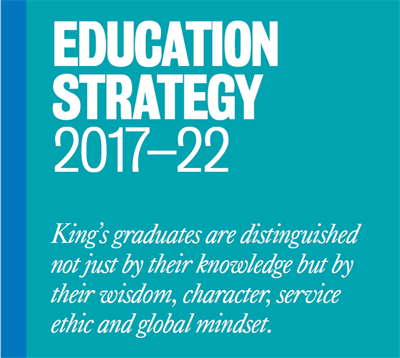 Kings College London Kings Education Strategy 2017 22