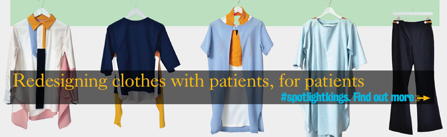 Redesigning clothes with patients, for patients. #spotlightkings. Find out more.