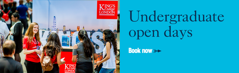 Undergraduate open days. Book now