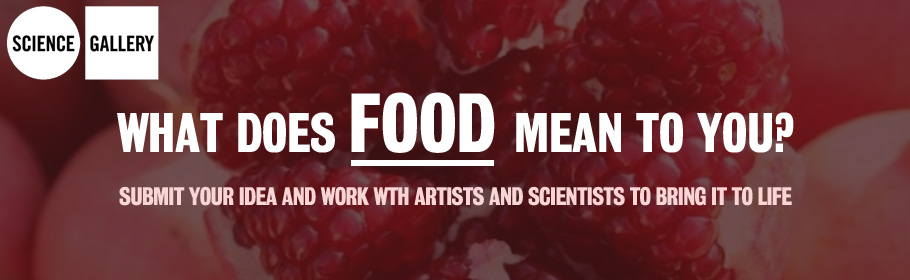 Science Gallery. What does food mean to you? Submit your idea and work with artists and scientists to bring it to life.