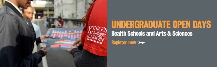 Undergraduate Open Days. Health Schools and Arts & Sciences. Register now.