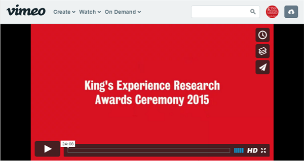 KERA2015-Vimeo. 2014 KERA Ceremony. Research Award booklet Congratulations  to all of our Research Award students! In December 2014 6d886bd4fc9