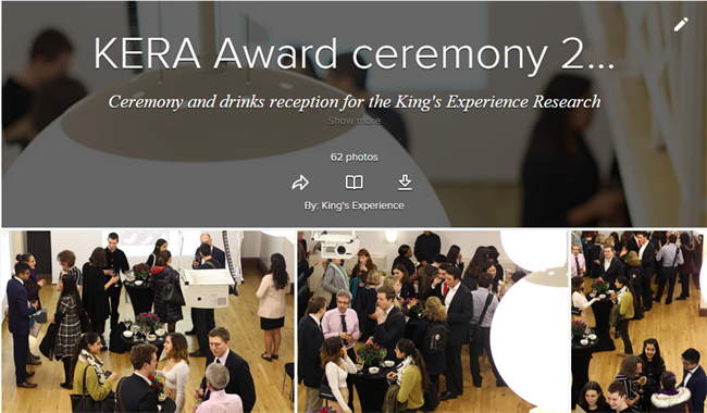 King s College London - King s Experience Research Award Ceremony 2015 28dd64adfe3
