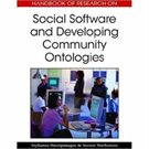 Social Software & Developing Community Ontologies - title cover