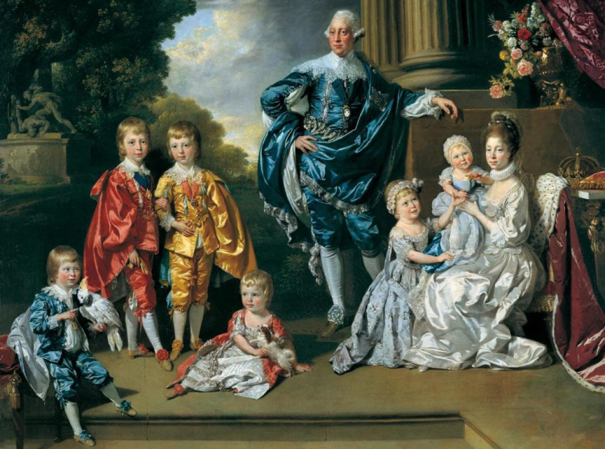 George-III-and-family