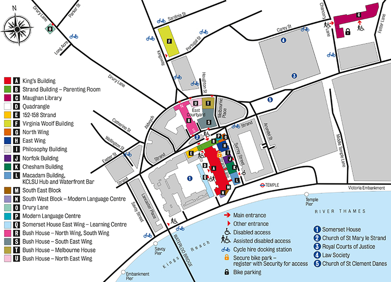 Somerset House Map Getting to the Strand campus – The Executive LLM Immersive Weekend